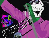 R.E.M. Michael Stipe Lex Luthor mash up