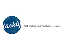 Taskly: A/B Testing and Analytics: Results