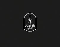 KickFlip effect Logotype