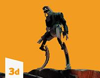 Recon Unit - 3D game Asset (WIP)