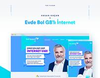 Hasan Kaçan ile Evde Bol GB'lı İnternet Website