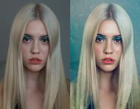 Beauty Portrait Retouching with Micro/Macro Dodge Burn