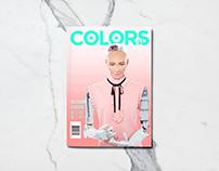Colors Magazine Cover Design - The Future