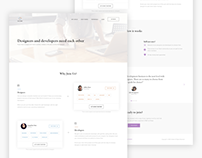Collabo (V2) - A Platform for Designers & Developers