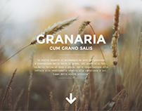Granaria - Website