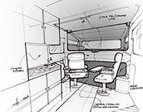 Off-Road Camper Interior Design