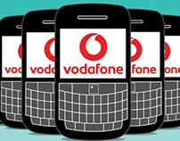 Vodafone - Blackberry Business animations