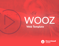 Freebie - Wooz Web Template