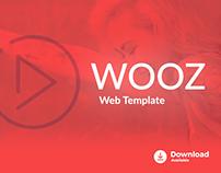 Freebie - Wooz Web Template