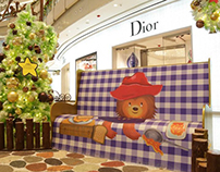 Paddington bear movie campaign at IFC Mall Shanghai