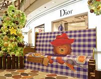 Paddington bear movie campaign at IFC Mall Shanghai