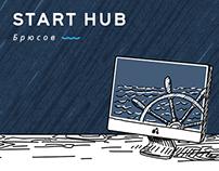 """Landing page """"Start Hub"""""""