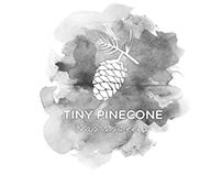Tiny Pinecone Logo Design
