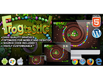 HTML5 Game: Frogtastic