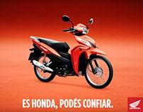 AD Honda Wave: Es Honda, podés confiar