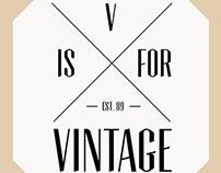 V is for Vintage