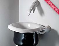 "Wash-basin ""Wonder-cylinder"""