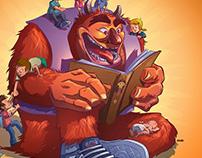 Le monstre aux livres