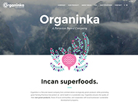Web for Organinka | Maca Peruvian Company