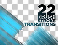 Brush Stroke Transitions