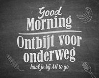 Albert Heijn to go - Ontbijt voor onderweg