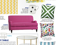"My design ""Spotted"" featured in HGTV magazine"