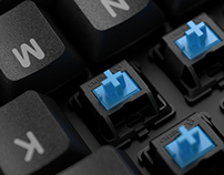 Mechanical Keyboard Product Visualization