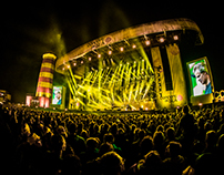 Set Design - ConcertAtSea 2016 - BLOF by BigVis