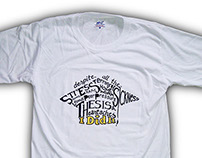 """I Did It!"" t-shirt design"