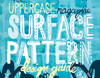Uppercase Magazine Surface Pattern Design Guide cover