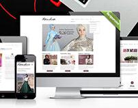 FATMA SEVİLDİ Fashion House (Web Design+Logo)
