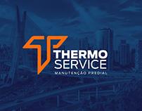 Identidade Visual Thermo Service Mantenção Predial