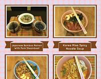 Embrace Misun Jap Ramen . Chi Cuisine Bunting Design