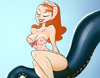 OCTOPUS! (Pinup Girl)