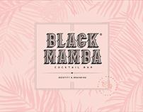BLACK MAMBA l BAR LOGO & BRANDING