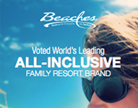 Beaches mobile website
