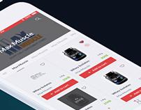 Supplements | E-commerce mobile app