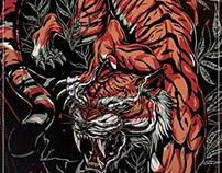 Japanese Crawling tiger