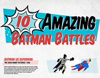 10 Amazing Batman Battles