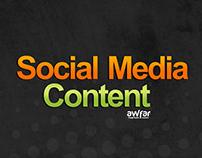 Social Media Content (Awfar Market)