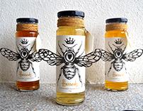 Harrods Honey Label