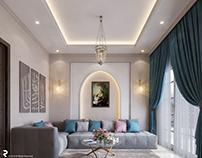 Living room Design, Egypt.
