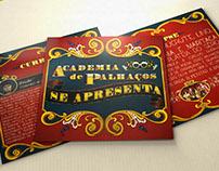"""Book """"Academia de Palhaços se apresenta"""""""