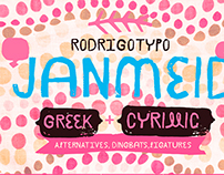 Janmeid, Greek+Cyrillic