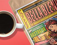 Bella Blend Packaging Design for Coffee Blends