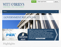 Web Design - Witt O'Brien's (2013)