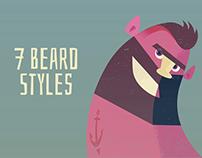 7 Beard Styles
