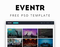Eventr - Free Psd Template