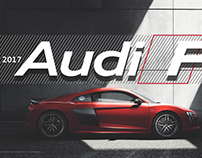 The 2017 Audi R8 Launch Training Event