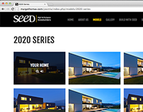 SEED Homes Website / re-Branding